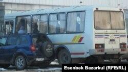 Астана көшесіндегі автобус. (Көрнекі сурет)