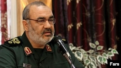 Hossein Salami, deputy commander of the Islamic Revolutionary Guard Corps (file photo)