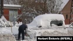 Novi Sad pod snegom