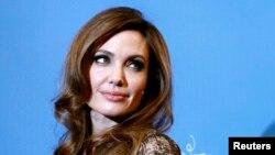 Анджелина Джоли, американская актриса.