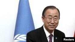 Генералниот секретар на ОН, Бан Ки Мун