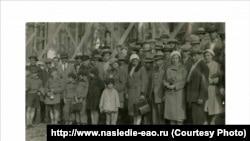 Первая группа переселенцев из Аргентины и Германии. 1931 год