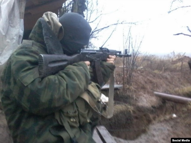 Максим Коваленко під час бойових дій