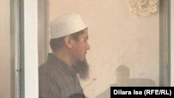 """""""Терроризм бабымен"""" айыпталған Ділмұрат Махаматов сотта тұр. Шымкент, 2 мамыр 2019 жыл."""