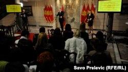 Milo Đukanović govori o radu Vlade, mart 2013.