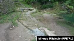 U Gornjem Šeheru, danas Srpskim Toplicama, nalazi se osam izvora termalne vode s temperaturom do 32 °C