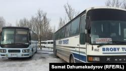 Бишкектеги Батыш автобекети.