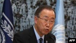 Генеральный секретарь Организации Объединенных Наций Пан Ги Мун.