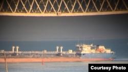 Россия перекрыла проход под Керченским мостом, 25 ноября 2018 года