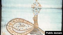 Ілюстраційне фото: тугра (печать) кримських ханів