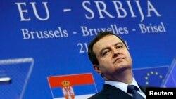 Ivica Dačić na otvaranju pregovora sa EU, Brisel, 21. januar 2014.