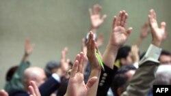 تصويت في برلمان العراق