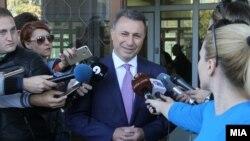 Поранешниот премиер Никола Груевски. Архивска фотографија.