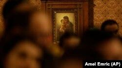 Prizor iz crkve tijekom mise polnoćke, ilustrativna fotografija