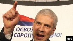 Борис Тадич святкує свою перемогу