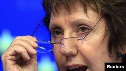 Верховный представитель Евросоюза по иностранным делам и политике безопасности Кэтрин Эштон