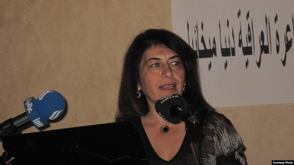 دنيا ميخائيل مؤلفة الليالي العراقية