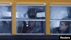 Школьный автобус в США. Иллюстративное фото.
