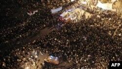 Площадь Тахрир в эти дни