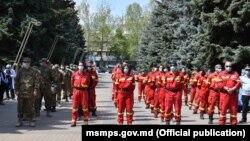 Medicii din România, sosiți la Chișinău, 30 aprilie 2020