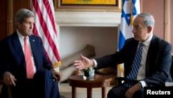 Džon Keri i Benjamin Netanjahu