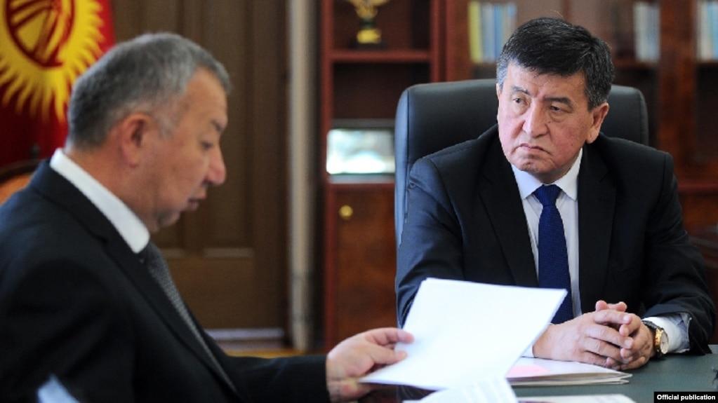 Ҷеенбеков истеъфои нахуствазирро пазируфт