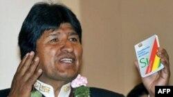 اوو مورالس، رئیس جمهور بولیوی