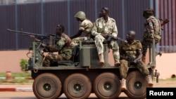 Орталық Африка Республикасы әскерилері. (Көрнекі сурет)