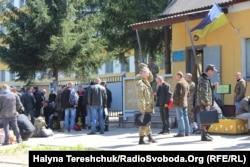 Новобранці у Львові, 1 червня 2015 року