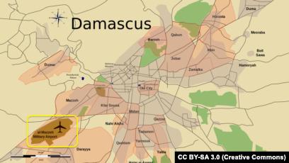 Blasts At Syrian Airbase Near Damascus Kill Two: Monitor