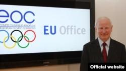 Presidenti i Komitetit Olimpik Evropian Patrick Hickey