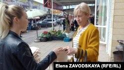 Акция против использования пластика, организованная участниками проекта «Экологическая журналистика»