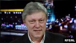 Председатель российской партии «Яблоко» Григорий Явлинский.