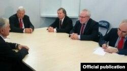 Встреча главы МИД Армении Эдварда Налбандяна с сопредседателями Минской группы ОБСЕ (архив)