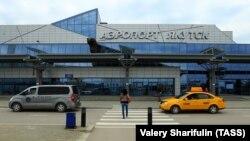Аэропорт в Якутске, архивное фото