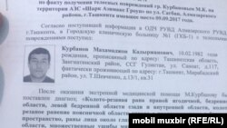 Махамаджон Курбанов госпитализирован в столичную клинику в тяжелом состоянии.