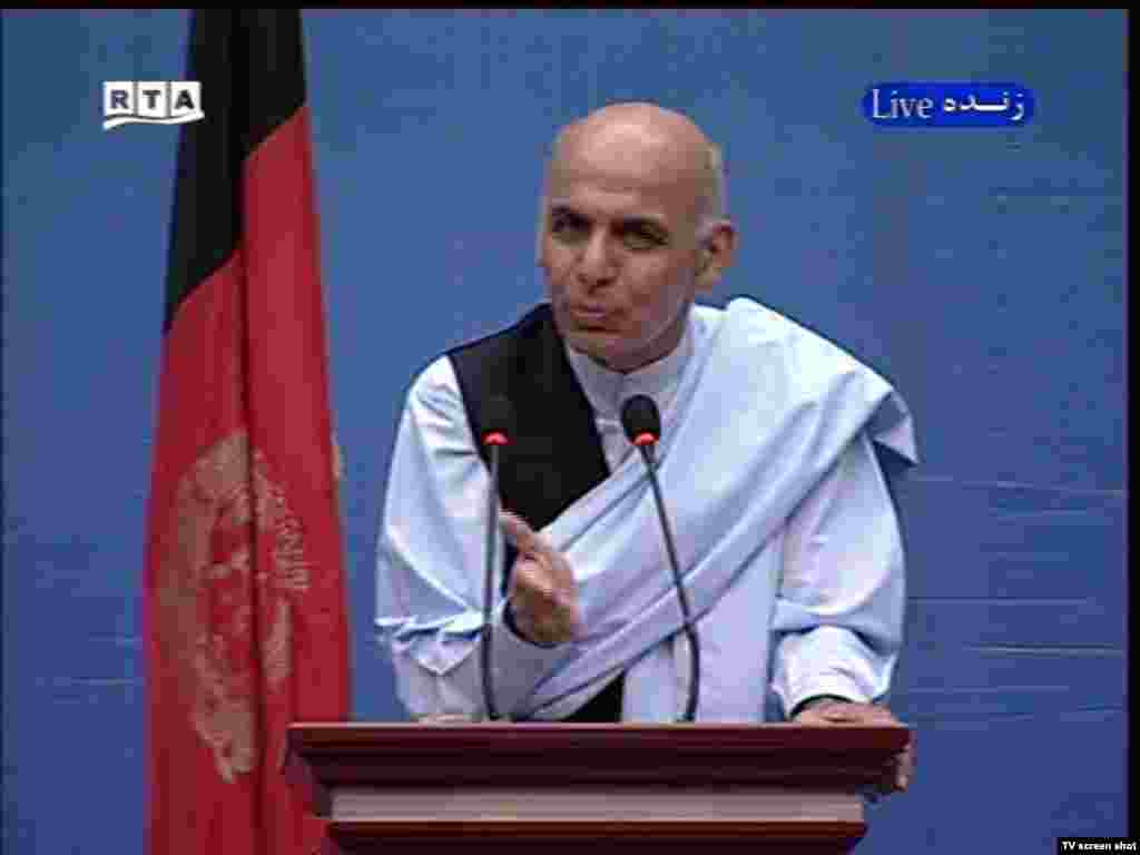"Ashraf Ghani: ""We must build confidence in the Afghan central government."" - The weakness of Afghanistan's central government was also addressed by the candidates. Ghani, a former World Bank official who has mounted a late charge in the campaign, said ""We cannot bring peace and stability to the country by using military power alone. We must build confidence in the Afghan central government."""