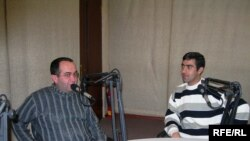 «Şəffaflıq»ın qonaqları -- Rəşid Hacılı və Xalid Vahidoğlu, 19 dekabr 2006