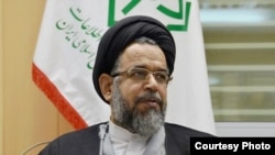 Iranian Intelligence Minister Mahmud Alavi (file photo)