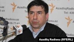 Yaşar Azadlıq Radiosunun Bakı bürosunda