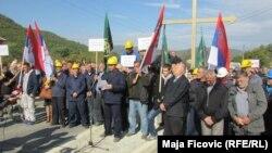 Radnici zabrinuti zbog najavljenog usvajanja Zakona o Trepči