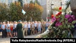 У Дніпрі вшанували пам'ять загиблих десантників, 2 серпня 2017 року