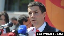 Aleksa Bečić, predsjednik stranke Demokrate Crne Gore