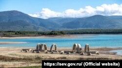 Чернореченское водохранилище, Севастополь, 16 октября 2020 год