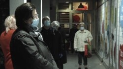 Seniors Shop Ahead Of Serbia's Orthodox Easter Virus Lockdown