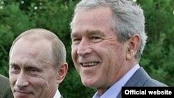 جرج بوش میزبان ولادیمیر پوتین در استراحتگاه خانوادگی خود است