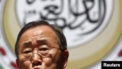 Генэральны сакратар ААН Пан Гі Мун