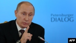 There has been media speculation about Putin's health recently.