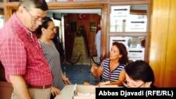 Pamje nga një vendvotim në Ankara në zgjedhjet presidenciale në Turqi