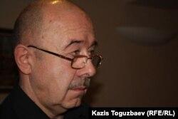 Александр Князев, российский политолог. Алматы, 25 февраля 2014 года.